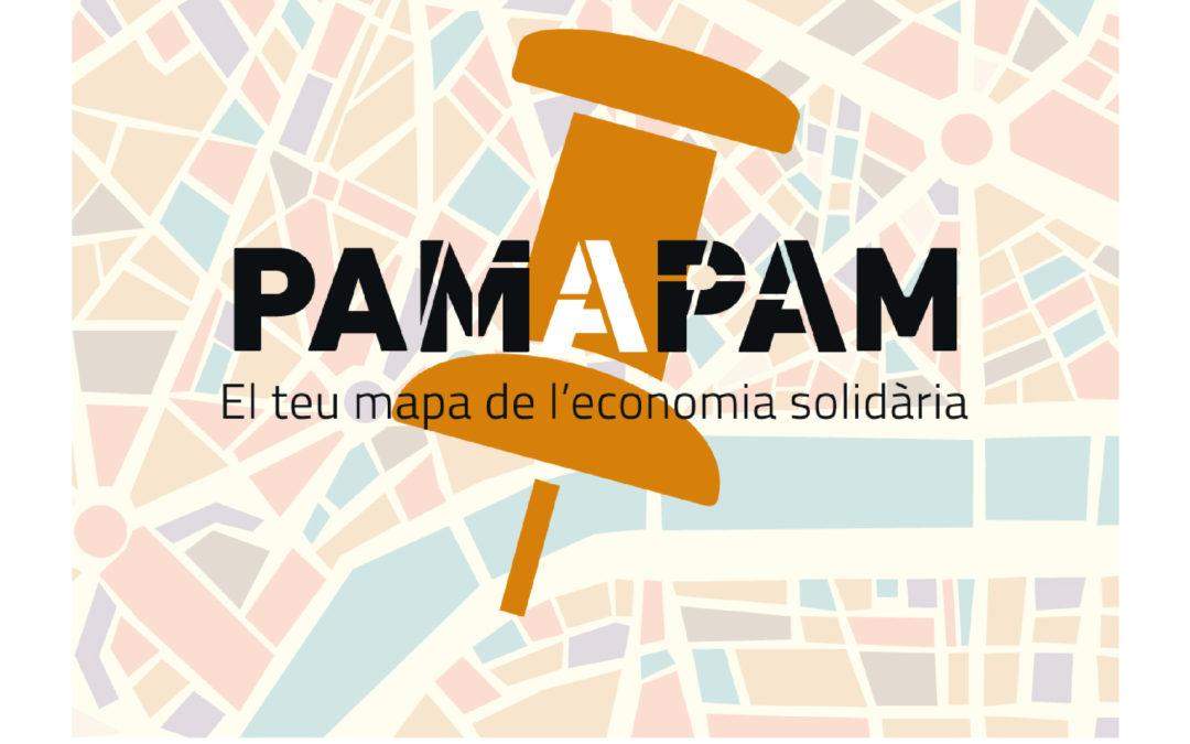 Cartel Pam a Pam, el teu mapa de l'economía solidària