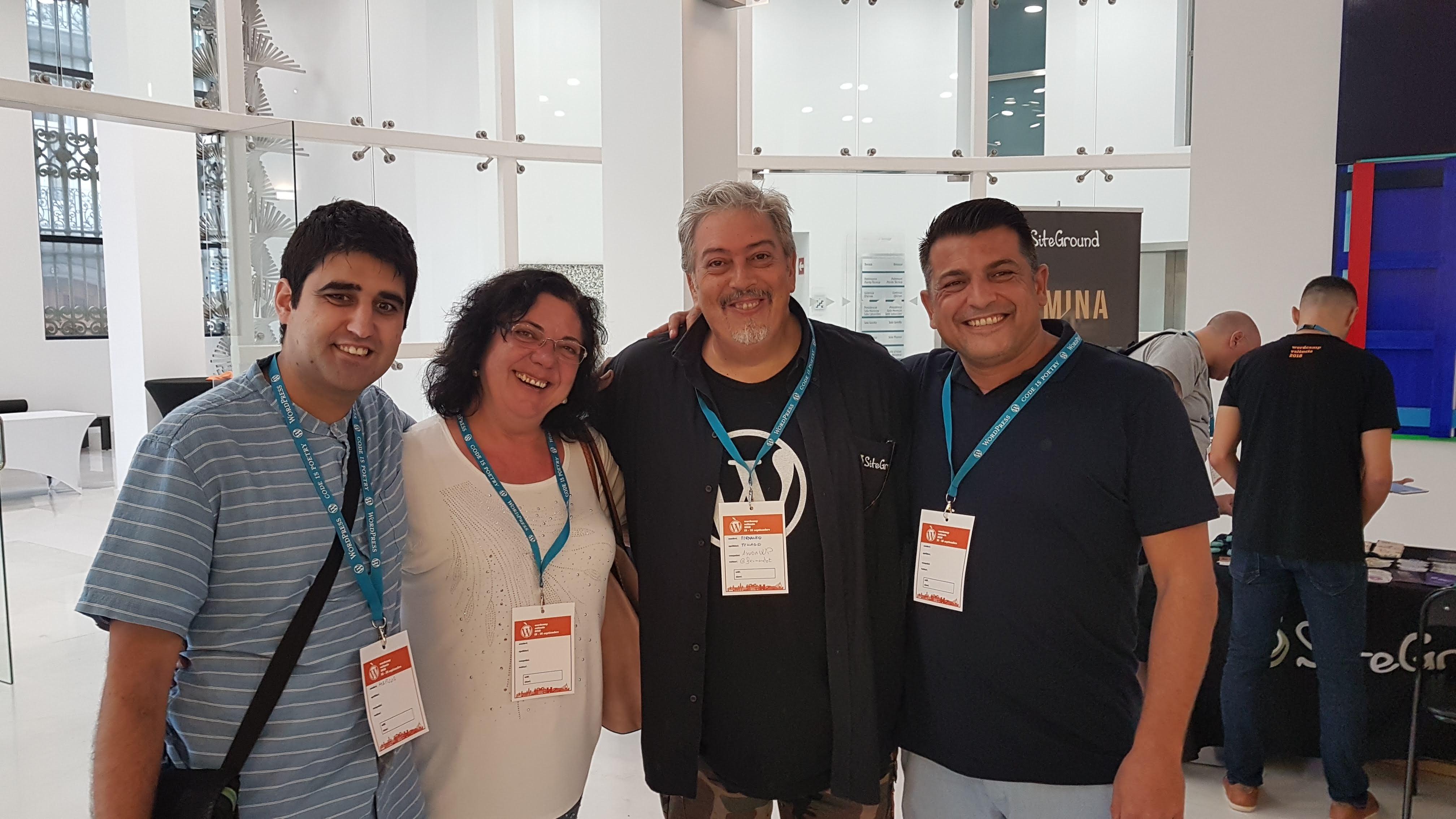 En la WodCamp Valencia 2018 con Fernando Tellado de ayudawp.com