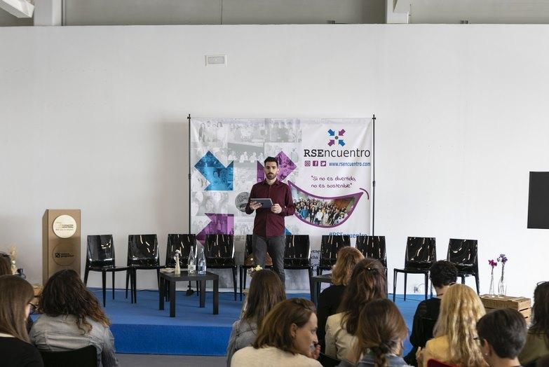 El presentador del VI RSEncuentro Valencia 2019