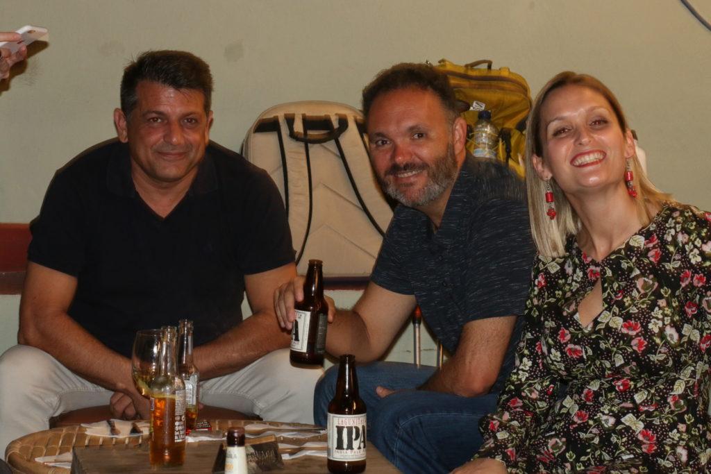 Foto de María de la Calzada: En buena compañía en la Cena de Ponentes y Voluntarios.